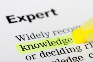 Expert=knowledge